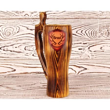 Personalized Groomsmen Beer Mug