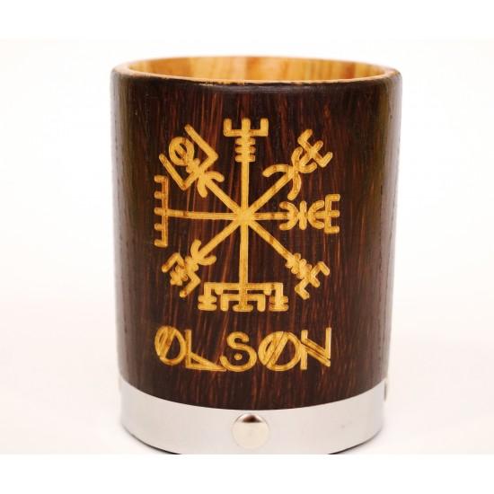 Whiskey glass Custom glass Groomsmen gift idea