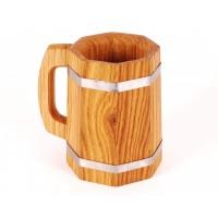 Wooden Beer Mug