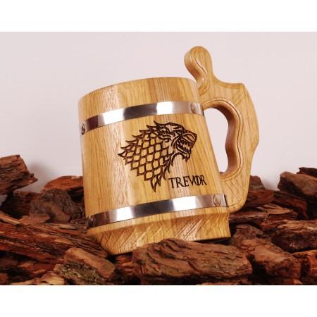 Personalized Groomsman Beer Mug
