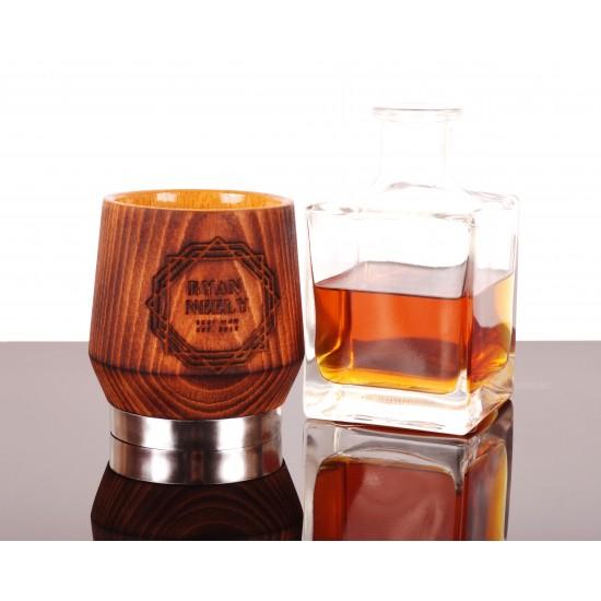 Engraved Whiskey Glass, Groomsmen gift, Gift for men